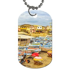 Engabao Beach At Guayas District Ecuador Dog Tag (Two Sides)