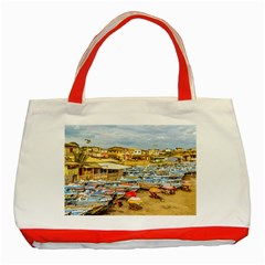 Engabao Beach At Guayas District Ecuador Classic Tote Bag (Red)