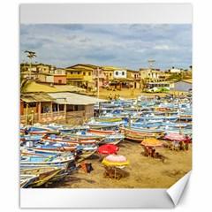 Engabao Beach At Guayas District Ecuador Canvas 8  x 10