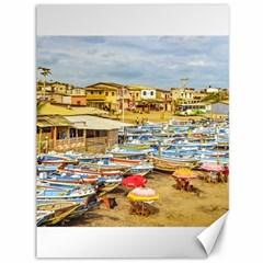 Engabao Beach At Guayas District Ecuador Canvas 36  x 48