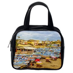 Engabao Beach At Guayas District Ecuador Classic Handbags (One Side)