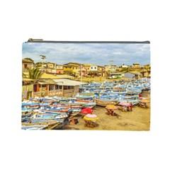 Engabao Beach At Guayas District Ecuador Cosmetic Bag (Large)