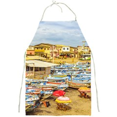 Engabao Beach At Guayas District Ecuador Full Print Aprons