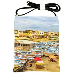 Engabao Beach At Guayas District Ecuador Shoulder Sling Bags