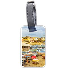 Engabao Beach At Guayas District Ecuador Luggage Tags (One Side)