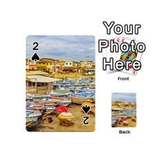 Engabao Beach At Guayas District Ecuador Playing Cards 54 (Mini)