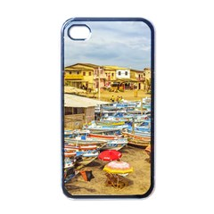 Engabao Beach At Guayas District Ecuador Apple iPhone 4 Case (Black)