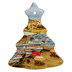 Engabao Beach At Guayas District Ecuador Christmas Tree Ornament (Two Sides)