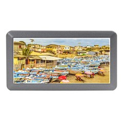 Engabao Beach At Guayas District Ecuador Memory Card Reader (Mini)
