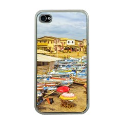 Engabao Beach At Guayas District Ecuador Apple iPhone 4 Case (Clear)