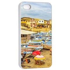 Engabao Beach At Guayas District Ecuador Apple iPhone 4/4s Seamless Case (White)
