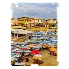 Engabao Beach At Guayas District Ecuador Apple iPad 3/4 Hardshell Case (Compatible with Smart Cover)