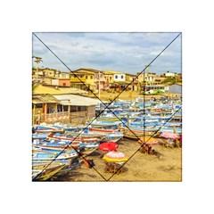 Engabao Beach At Guayas District Ecuador Acrylic Tangram Puzzle (4  x 4 )
