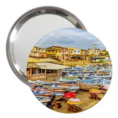 Engabao Beach At Guayas District Ecuador 3  Handbag Mirrors