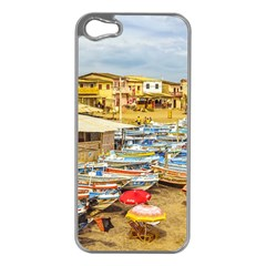 Engabao Beach At Guayas District Ecuador Apple iPhone 5 Case (Silver)