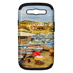 Engabao Beach At Guayas District Ecuador Samsung Galaxy S III Hardshell Case (PC+Silicone)
