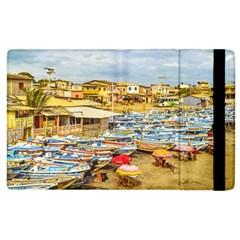 Engabao Beach At Guayas District Ecuador Apple iPad 3/4 Flip Case