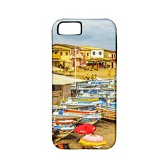 Engabao Beach At Guayas District Ecuador Apple iPhone 5 Classic Hardshell Case (PC+Silicone)