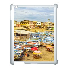 Engabao Beach At Guayas District Ecuador Apple iPad 3/4 Case (White)
