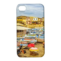 Engabao Beach At Guayas District Ecuador Apple iPhone 4/4S Hardshell Case with Stand