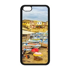 Engabao Beach At Guayas District Ecuador Apple iPhone 5C Seamless Case (Black)