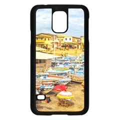 Engabao Beach At Guayas District Ecuador Samsung Galaxy S5 Case (Black)