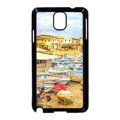 Engabao Beach At Guayas District Ecuador Samsung Galaxy Note 3 Neo Hardshell Case (Black)