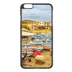 Engabao Beach At Guayas District Ecuador Apple iPhone 6 Plus/6S Plus Black Enamel Case