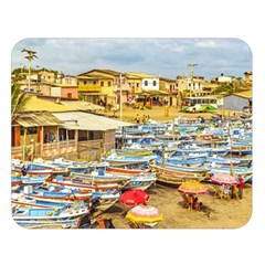 Engabao Beach At Guayas District Ecuador Double Sided Flano Blanket (Large)