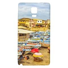 Engabao Beach At Guayas District Ecuador Galaxy Note 4 Back Case