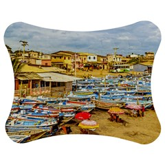 Engabao Beach At Guayas District Ecuador Jigsaw Puzzle Photo Stand (Bow)