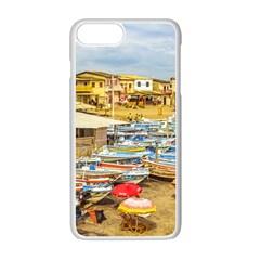 Engabao Beach At Guayas District Ecuador Apple iPhone 7 Plus White Seamless Case