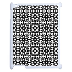 Pattern Apple iPad 2 Case (White)