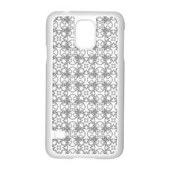 Pattern Samsung Galaxy S5 Case (White)