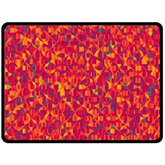 Pattern Fleece Blanket (Large)