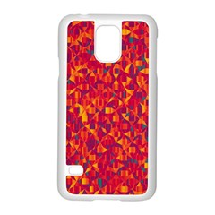 Pattern Samsung Galaxy S5 Case (White)