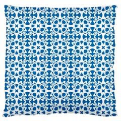 Pattern Large Flano Cushion Case (One Side)