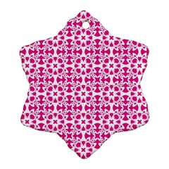 Pattern Ornament (Snowflake)