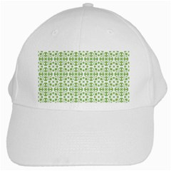 Pattern White Cap
