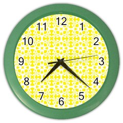 Pattern Color Wall Clocks