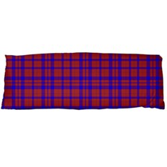 Pattern Plaid Geometric Red Blue Body Pillow Case Dakimakura (Two Sides)