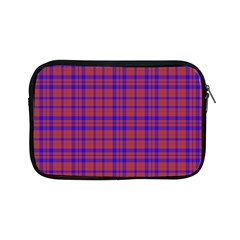 Pattern Plaid Geometric Red Blue Apple iPad Mini Zipper Cases