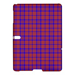 Pattern Plaid Geometric Red Blue Samsung Galaxy Tab S (10.5 ) Hardshell Case