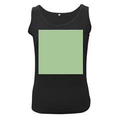 Pattern Women s Black Tank Top