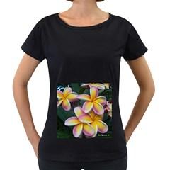 Premier Mix Flower Women s Loose-Fit T-Shirt (Black)