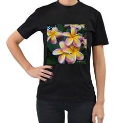 Premier Mix Flower Women s T-Shirt (Black)