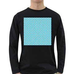 Pattern Long Sleeve Dark T-Shirts