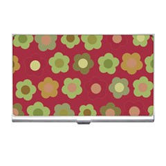 Floral pattern Business Card Holders