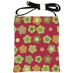Floral pattern Shoulder Sling Bags