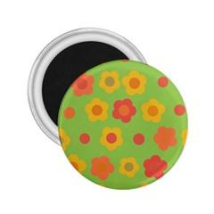 Floral pattern 2.25  Magnets